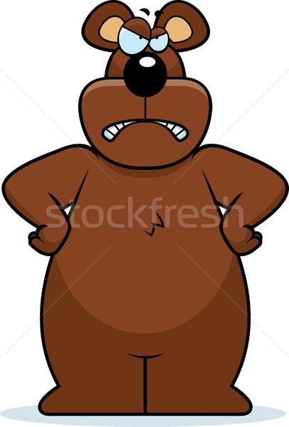 Angry Bear Stock photo © cthoman