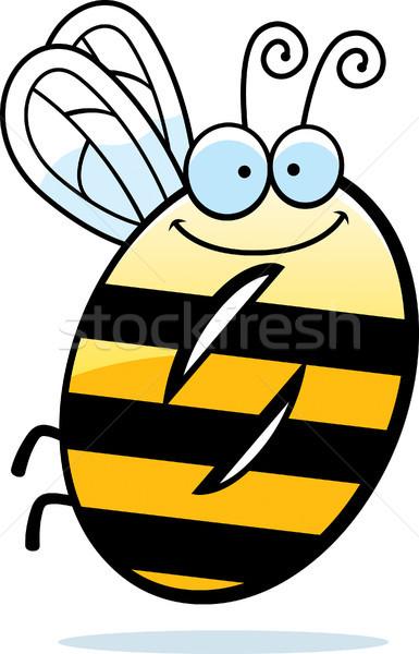 Desenho animado número zero bicho ilustração inseto Foto stock © cthoman