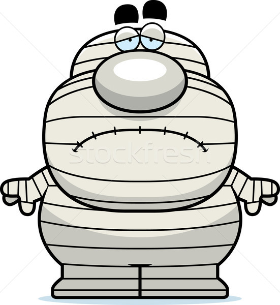 Tired Cartoon Mummy Stock photo © cthoman