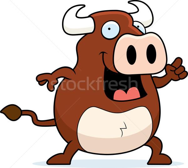 Bull Idea Stock photo © cthoman