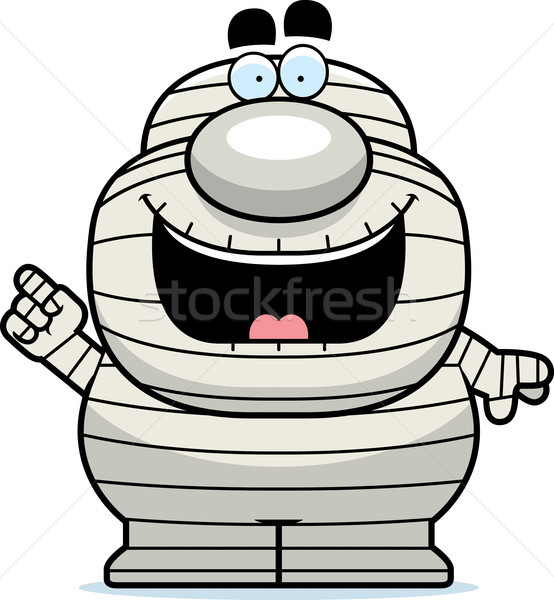 Cartoon Mummy Idea Stock photo © cthoman