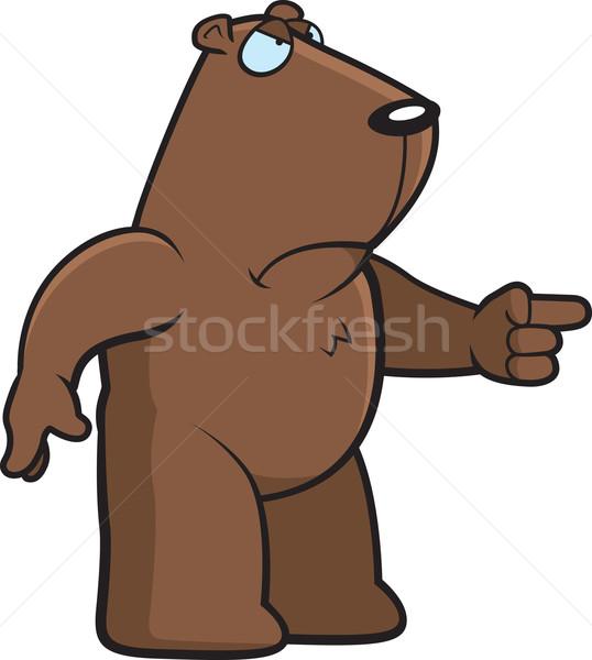 Angry Groundhog Stock photo © cthoman