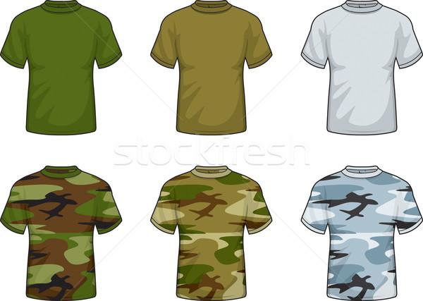 álca pólók választék különböző színes sivatag Stock fotó © cthoman