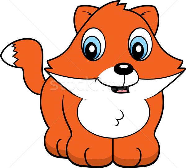 Baby Fox Stock photo © cthoman