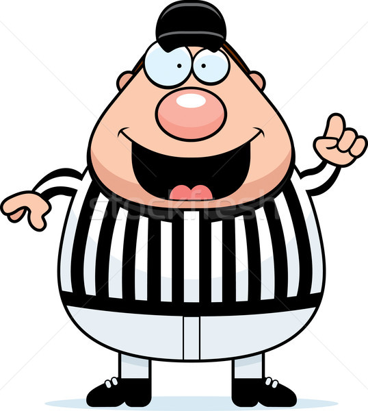 Referee Making Call Stock photo © cthoman