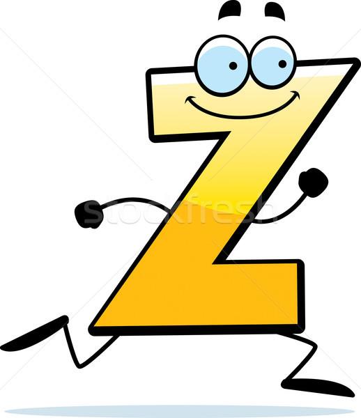 Cartoon Z Running Stock photo © cthoman