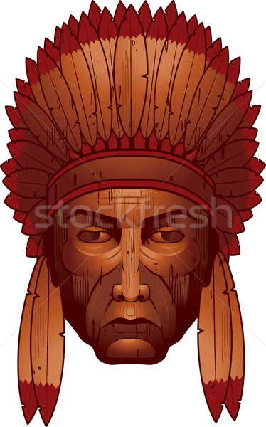 Wooden Chief Stock photo © cthoman