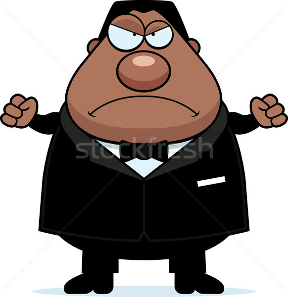 Cartoon Groom Angry Stock photo © cthoman