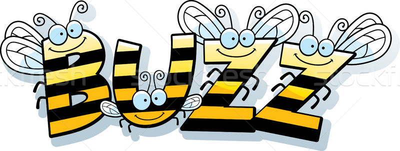 Cartoon Bee Buzz Stock photo © cthoman