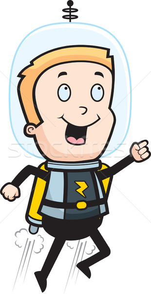 Astronaut Jet Pack Stock photo © cthoman