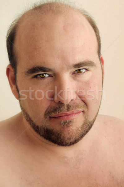 Stock photo: Close up mature man