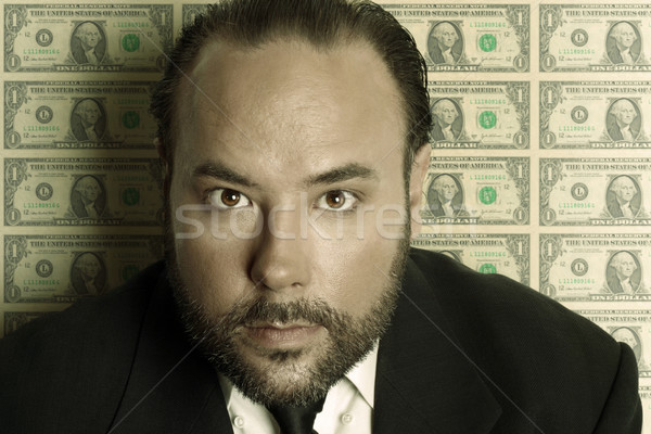 Money man Stock photo © curaphotography