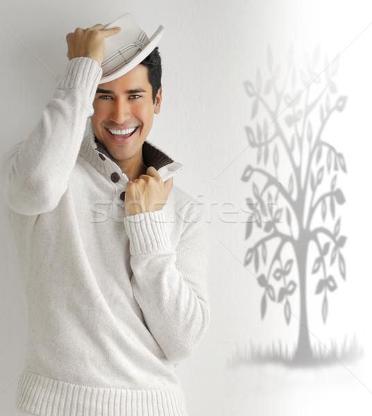 Happy man Stock photo © curaphotography