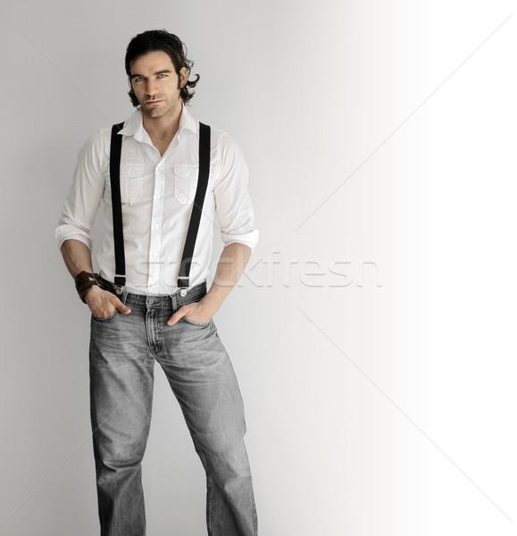 Fashion man Stock photo © curaphotography