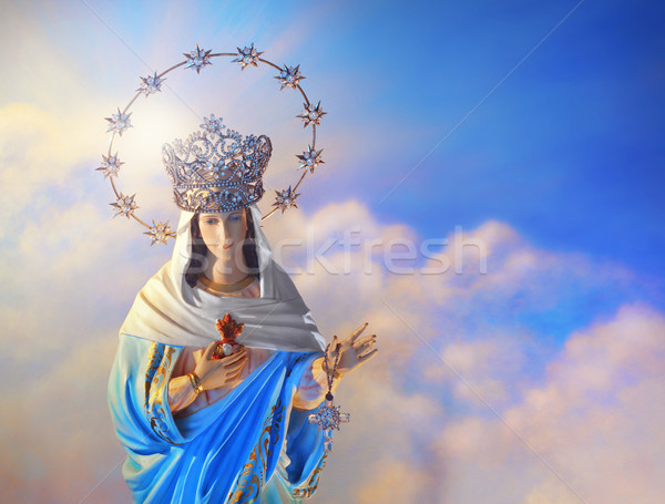 Blessed Virgin Mary Stock photo © curaphotography