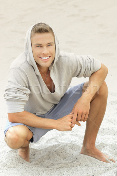 Stock photo: Young man smile