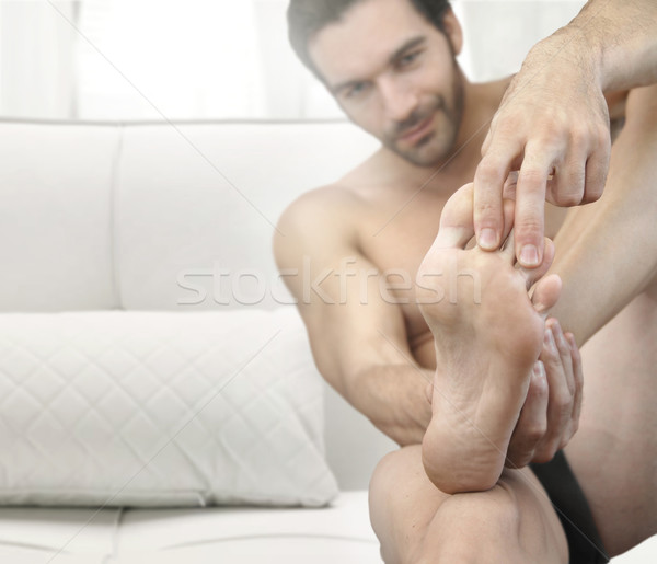 Man feet  Stock photo © curaphotography