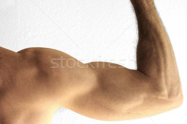 Arm detail man tonen hand Stockfoto © curaphotography