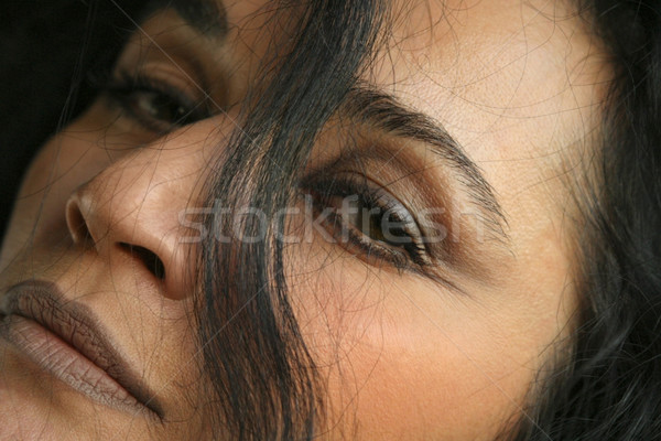 close up of woman's face Stock photo © curaphotography