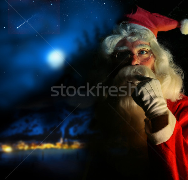 Nostalgic Santa Stock photo © curaphotography