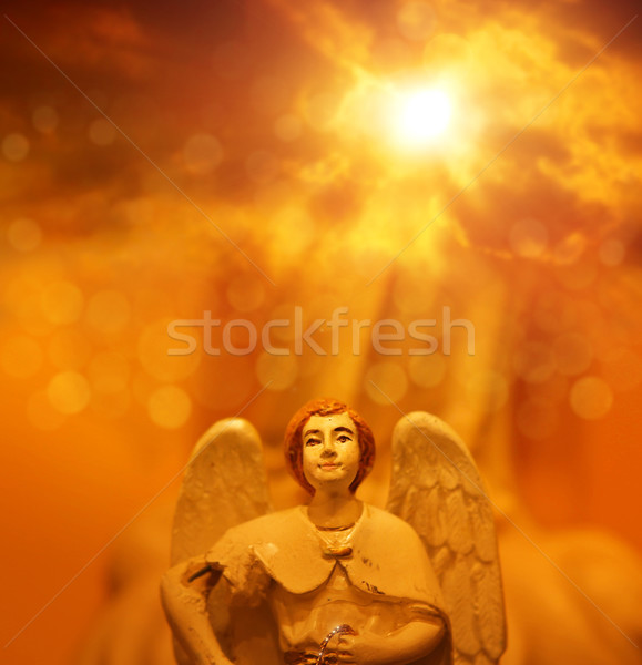 Angel in heaven Stock photo © curaphotography