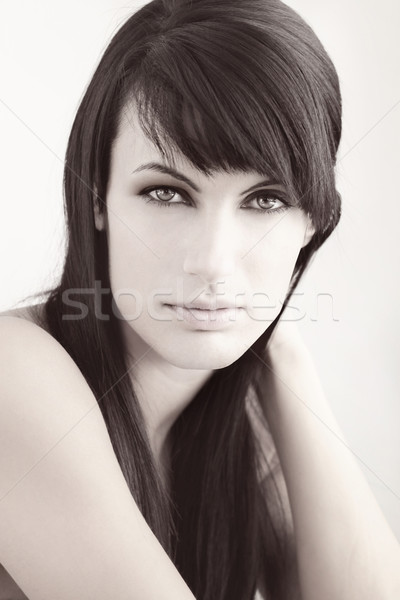 Beauty shot of woman Stock photo © curaphotography