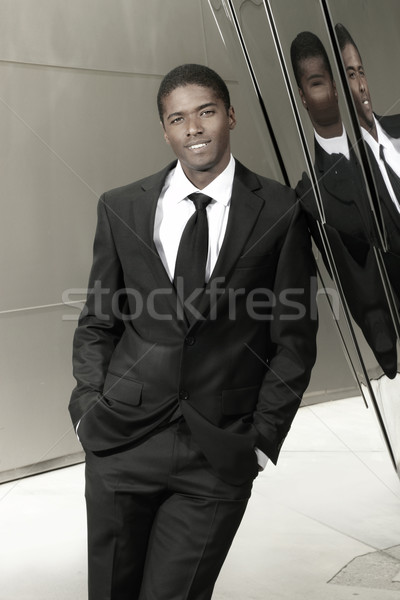Young succesful businessman Stock photo © curaphotography