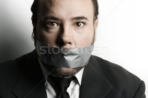 Censored Man Stock photo © curaphotography