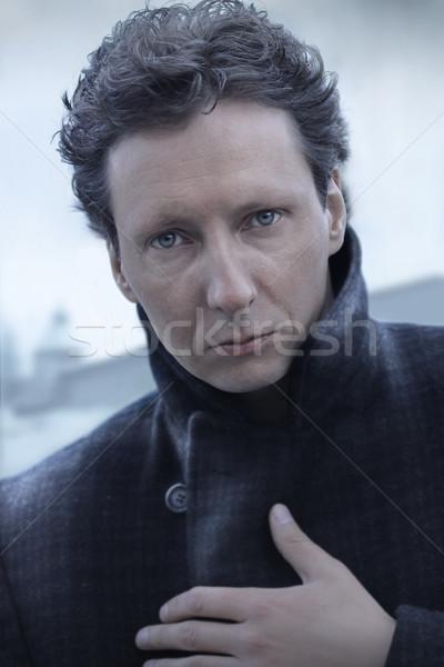 Winter portrait Stock photo © curaphotography