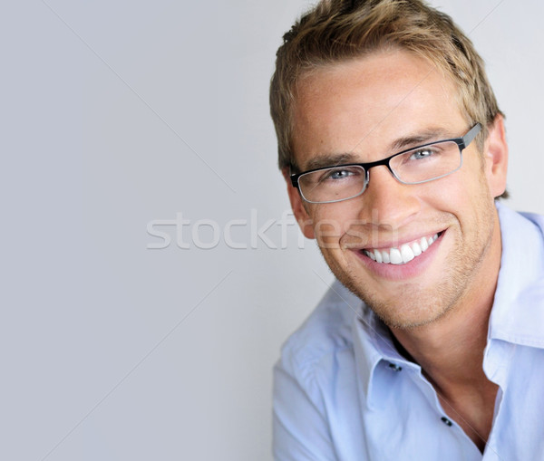 Eyeglasses man Stock photo © curaphotography