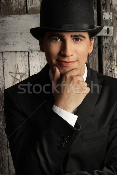 Top Hat Man Stock photo © curaphotography