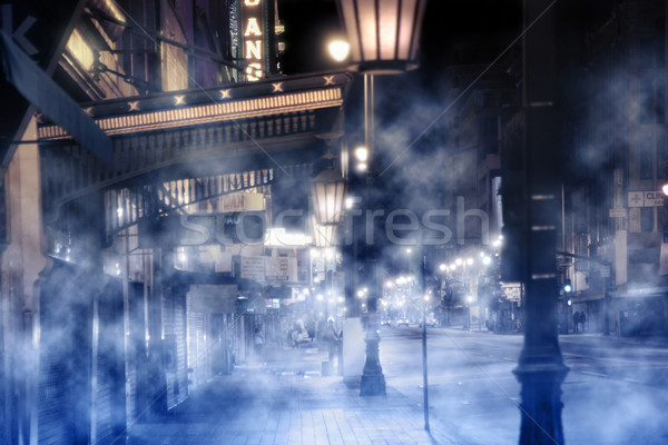 foggy street scene Stock photo © curaphotography
