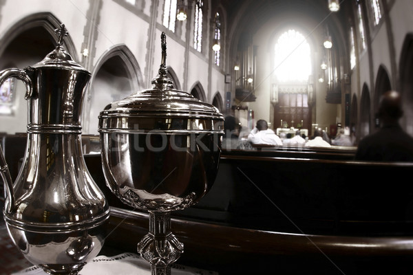 Photo of catholic church Stock photo © curaphotography