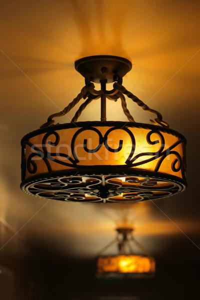 Antique lamp Stock photo © curaphotography