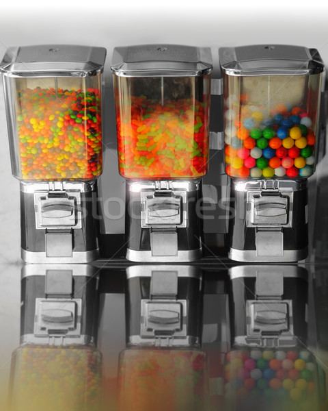 Vintage retro candy machines Stock photo © curaphotography