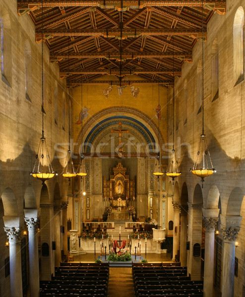 Church interior Stock photo © curaphotography