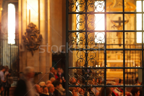 Chiesa interni bella storico cattedrale Italia Foto d'archivio © curaphotography