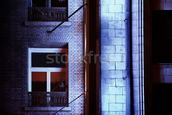 building at night Stock photo © curaphotography
