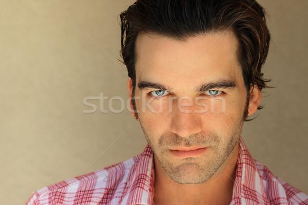 Foto d'archivio: Di · bell'aspetto · ragazzo · ritratto · maschile · giovane