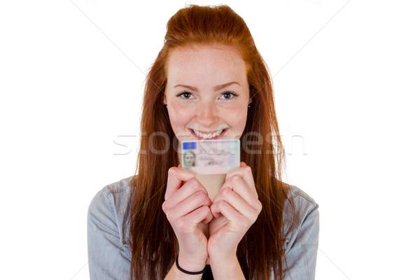 Genç kadın 16 kız Stok fotoğraf © Cursedsenses