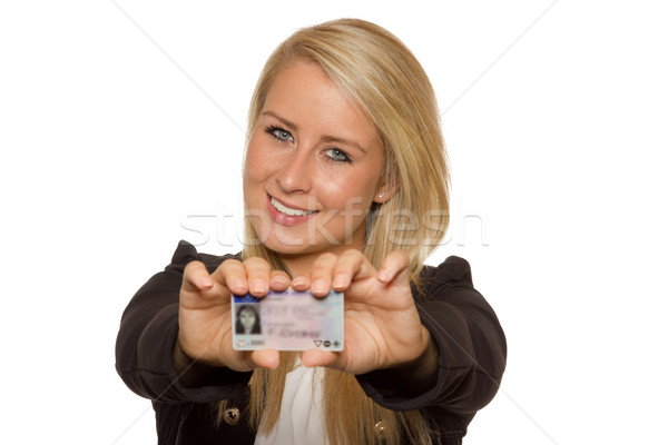 Mulher jovem 16 18 anos menina Foto stock © Cursedsenses