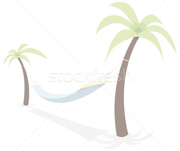 Maca palmeiras Foto stock © curvabezier