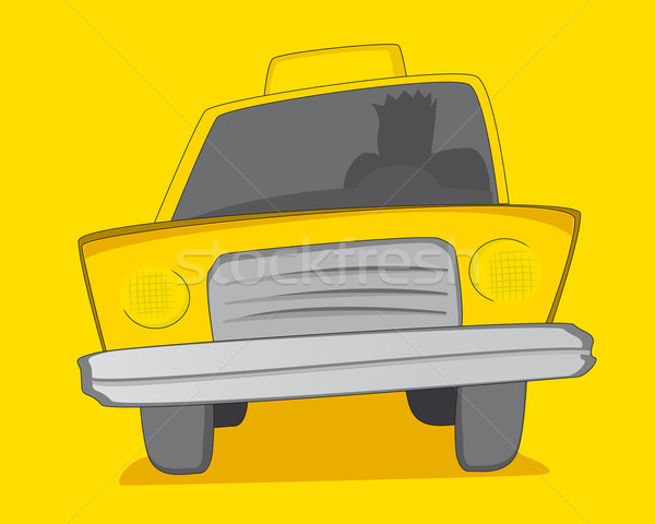 Yellow Cab / Taxi Stock photo © curvabezier