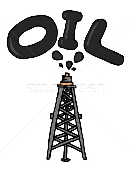 Oil coming out of pump Stock photo © curvabezier