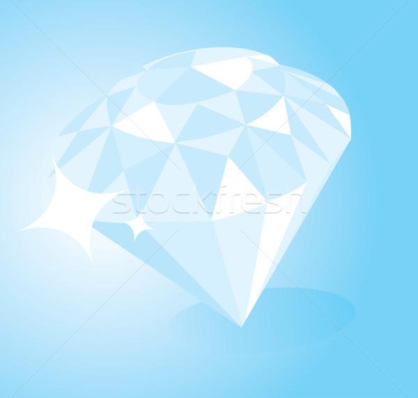 дорогой глядя Diamond каменные ювелирные Сток-фото © curvabezier