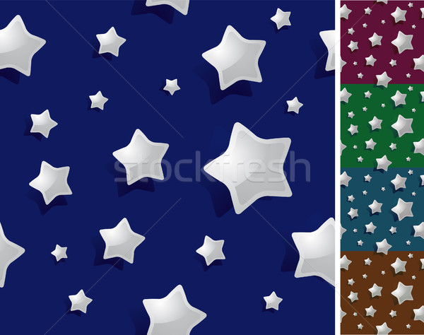 Sem costura noite estrelas papel de parede Foto stock © curvabezier