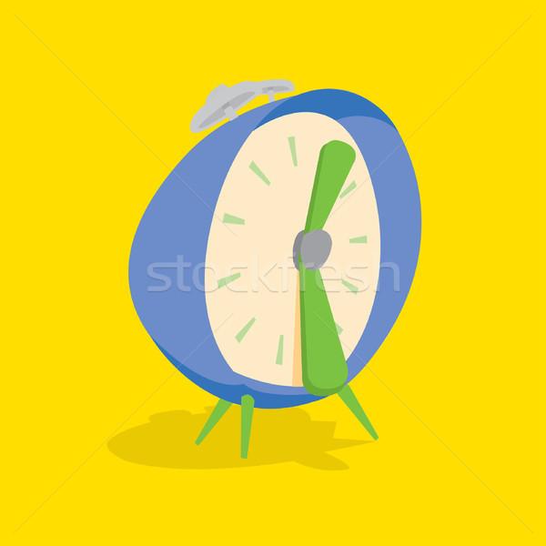目覚まし時計 面白い 漫画 時間 ストックフォト © curvabezier
