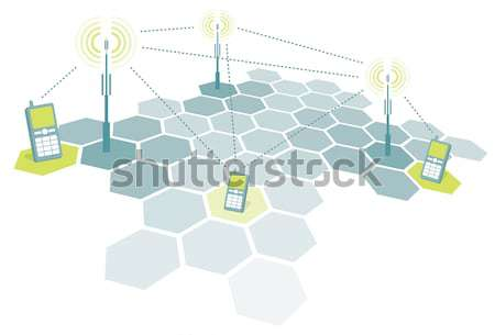 Stock photo: Education network / School and College communication