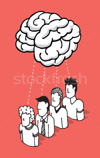 People sharing their mind Stock photo © curvabezier