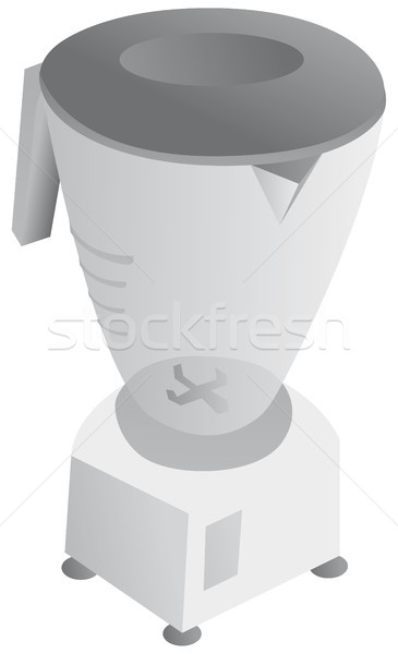 Black and white blender Stock photo © curvabezier